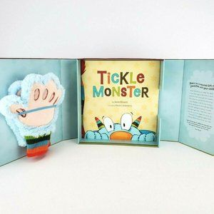 Tickle Monster Laughter Kit With Book and Mitts